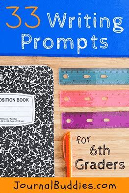 writing prompts  middle school  graders