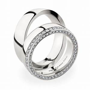 Christian bauer wedding rings 950 platina 88 brilliants for Christian bauer wedding rings