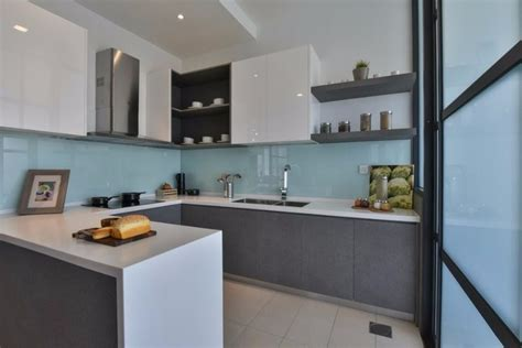 wet  dry kitchen design ideas  malaysian homes recommend living