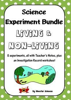 science experiment bundle living   living