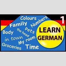 Learn German For Beginners  Lesson 1 Youtube