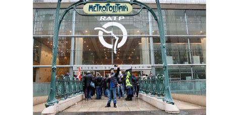 siege ratp nouvelle grève à la ratp le 31 mars à l 39 appel de deux