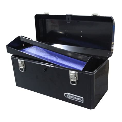 Black Kobalt Truck Tool Box