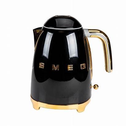 Kettle Smeg Toaster Gold Luxury Plated Elite