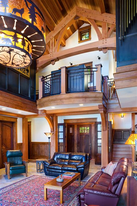 Interior Pictures by Mountain Architects Hendricks Architecture Idaho Priest