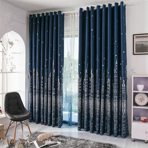 buy wholesale navy blue curtains from china navy