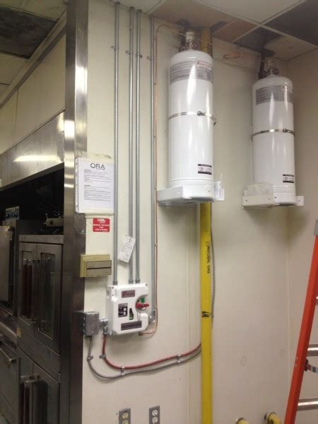 Commercial Kitchen Fire Suppression Systems