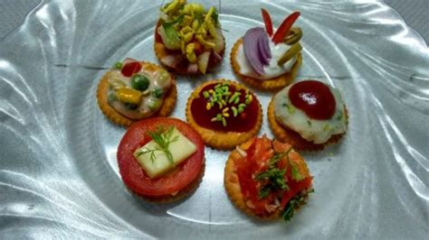 canape biscuit biscuit toppings or biscuit canapes