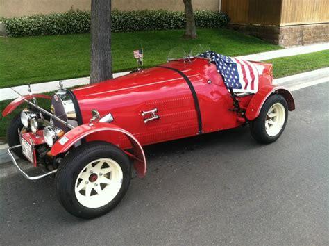 1927 bugatti roadster kit car.vw engine an frame. 1927 Bugatti Replica Type 35B By Jerred Auto Manufacturing Co. for sale