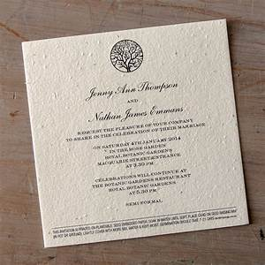 Plantable paper invitations little flamingo for Wedding invitations not paper
