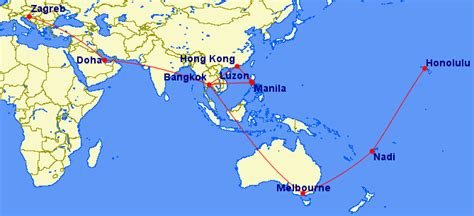 big trip idea hawaii fiji aus philippines doha  st