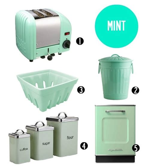 mint green kitchen accessories kitchen accents in the summer hues 7521