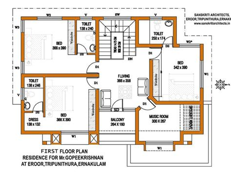 home plan com kerala house plans with estimate for a 2900 sq ft home design