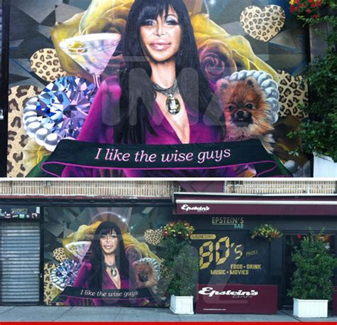 Big Ang Mural Location by Mob Angela Big Ang Raiola The Of