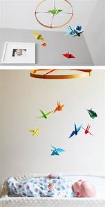 Diy Paper Crane Mobile