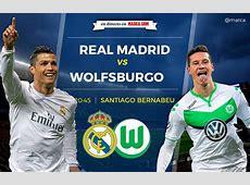 Real Madrid vs Wolfsburgo en directo y en vivo online 30