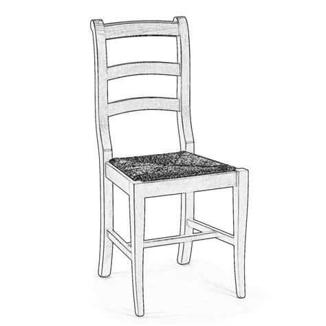 sedia legno grezzo sedia in legno grezzo da verniciare cagnola arredas 236
