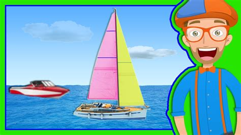 Blippi Boat Song Youtube by Boats For Preschoolers The Blippi Boat Song Youtube