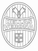 Hellas Leukekleurplaten Dibujosparaimprimir Atalanta Colorat Kolorowanka 1001coloring Crotone Ladnekolorowanki Plansededesenat Tipareste sketch template