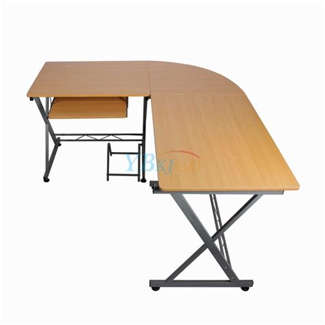 home study desks furniture l shaped pc table durable computer desk modern table home