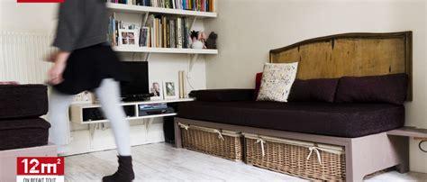 comment cr馥r une chambre dans un salon amenager chambre dans salon maison design modanes com