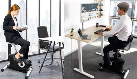 faites du vélo à votre bureau et travaillez debout sans