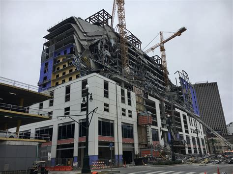 hard rock hotel collapses   orleans