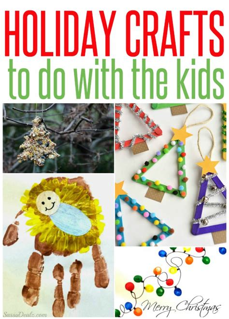 5 holiday crafts to do with the kids infarrantly creative