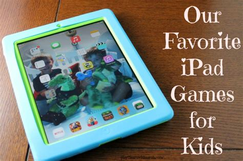 Our Favorite Pinterest Profiles For Decorating Ideas: Our Favorite IPad Games For Kids