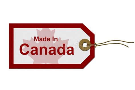 Made In Canada Stock Photo  Image 32828400