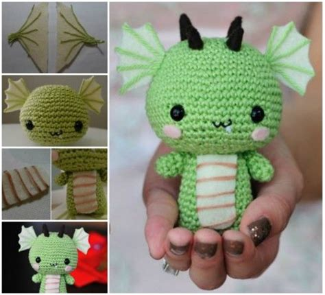 diy crochet baby dragon pictures   images
