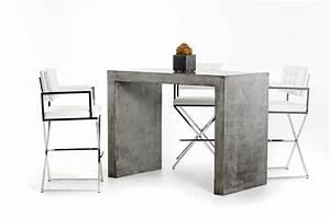 Modrest McGee Modern Concrete Bar Table - Bar - Dining
