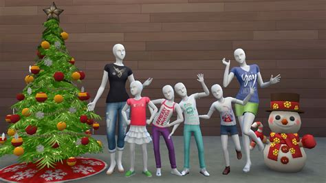 mod the sims target australia christmas shirts 2015