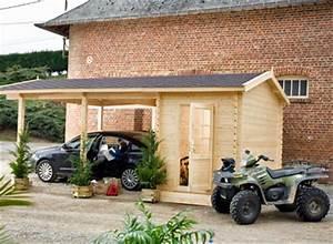 Carport Avec Abri : abri voiture et carport ~ Melissatoandfro.com Idées de Décoration