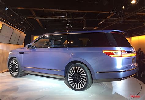 lincoln navigator concept tail  fast lane truck