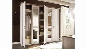 Kleiderschrank Pinie Weiß : kleiderschrank luca pinie wei tr ffel spiegel 241 cm ~ Frokenaadalensverden.com Haus und Dekorationen