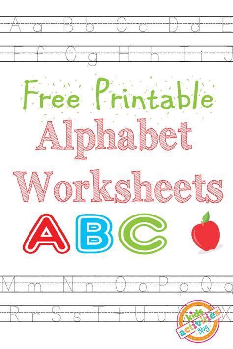 free printable alphabet worksheets free homeschool deals