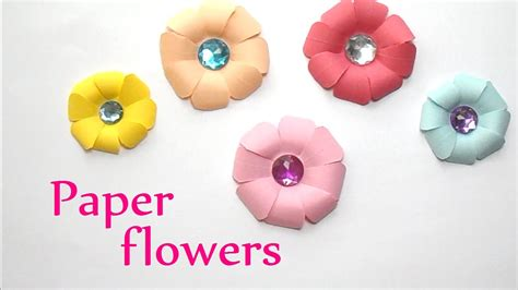 diy crafts paper flowers  easy innova crafts