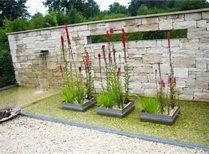 Ideen Sichtschutz Garten : sichtschutz garten stein mit modernen gartenbrunnen stil sowie gartenteiche gestaltung f r ~ Sanjose-hotels-ca.com Haus und Dekorationen
