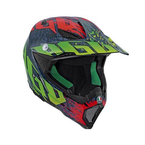 agv motocross helmets agv ax 8 carbon nohander helmet lsh racing world