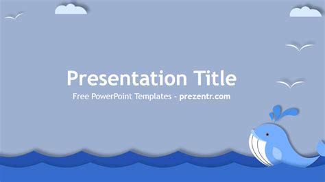 whale powerpoint template prezentr powerpoint templates