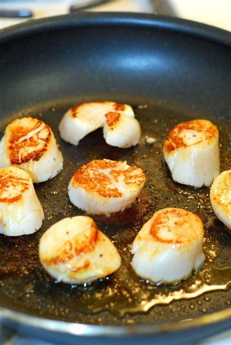 creamy risotto  pan seared scallops  sausage recipe
