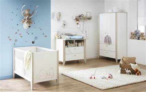 chambre b b complete chambre bébé contemporaine blanche marron clair ted
