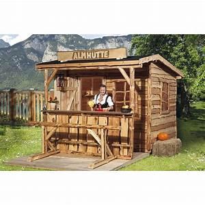 Gartenhaus 2 Etagen : weka holz gartenhaus nature 3 gr e 1 240 cm x 280 cm mit sitzgel und tresen kaufen bei obi ~ Frokenaadalensverden.com Haus und Dekorationen