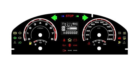 Digital Dashboard For Race Cars