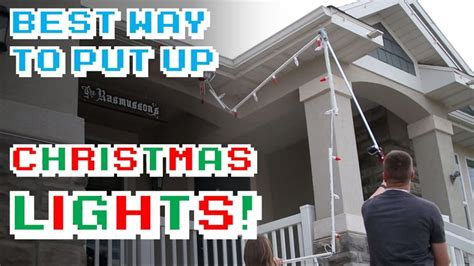 how to hang lights on tree brancheshow to hang
