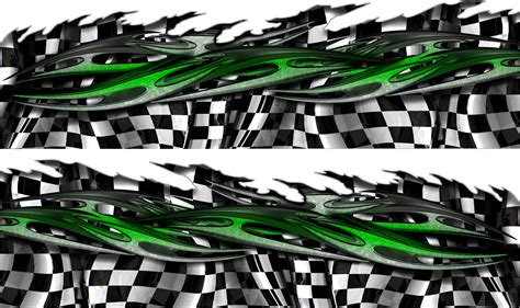 12 Checkered Graphic Designs For Cars Images