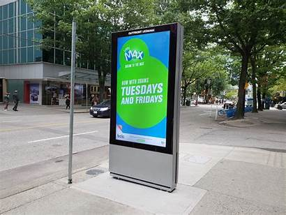 Digital Screen Advertising Vancouver Signs Sign Downtown