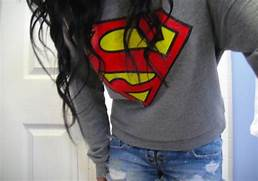 superman shirt on Tumb...