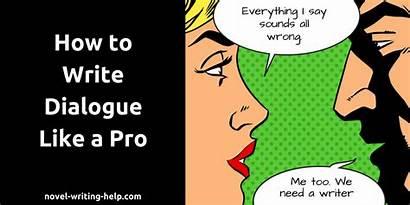 Dialogue Writing Write Novel Help Rules Soal